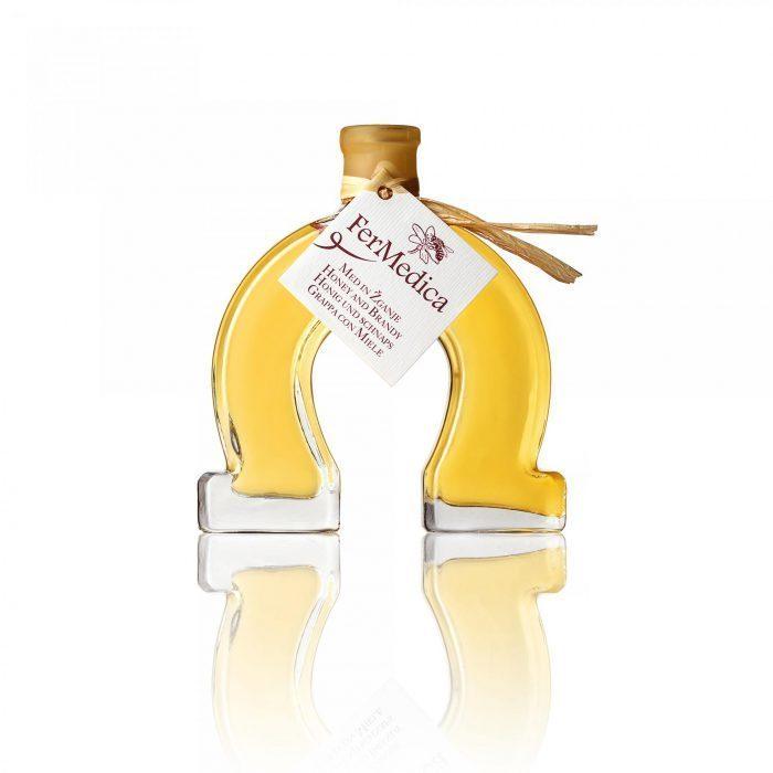 Med in žganje, med z dodatki, darilni seti v lični embalaži fermedica 22