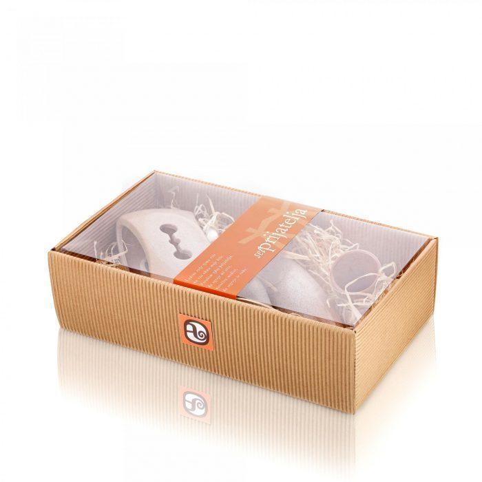 Med in žganje, med z dodatki, darilni seti v lični embalaži fermedica 44