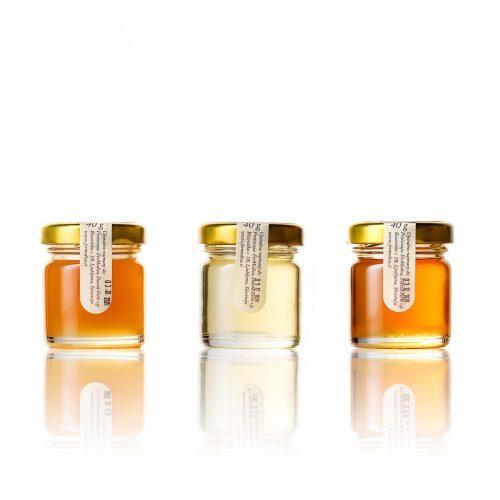Med in žganje, med z dodatki, darilni seti v lični embalaži fermedica 28