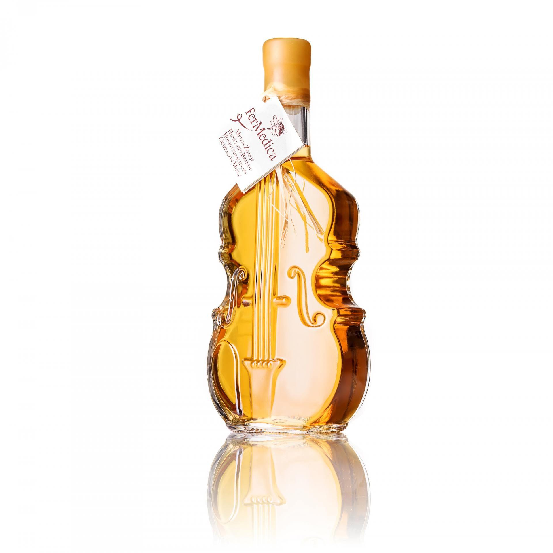 Med in žganje, med z dodatki, darilni seti v lični embalaži fermedica 3