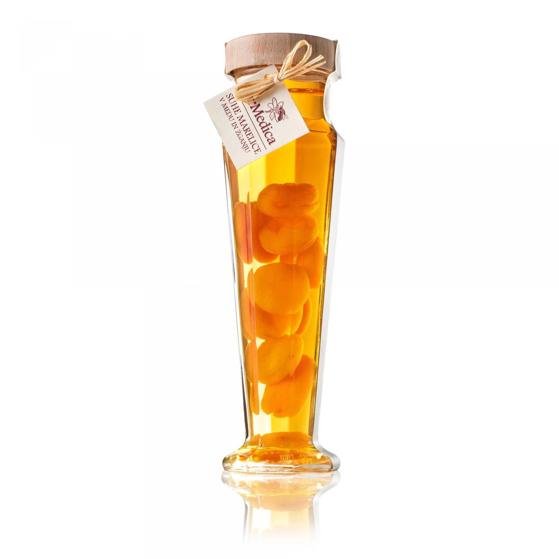 Med in žganje, med z dodatki, darilni seti v lični embalaži fermedica 51