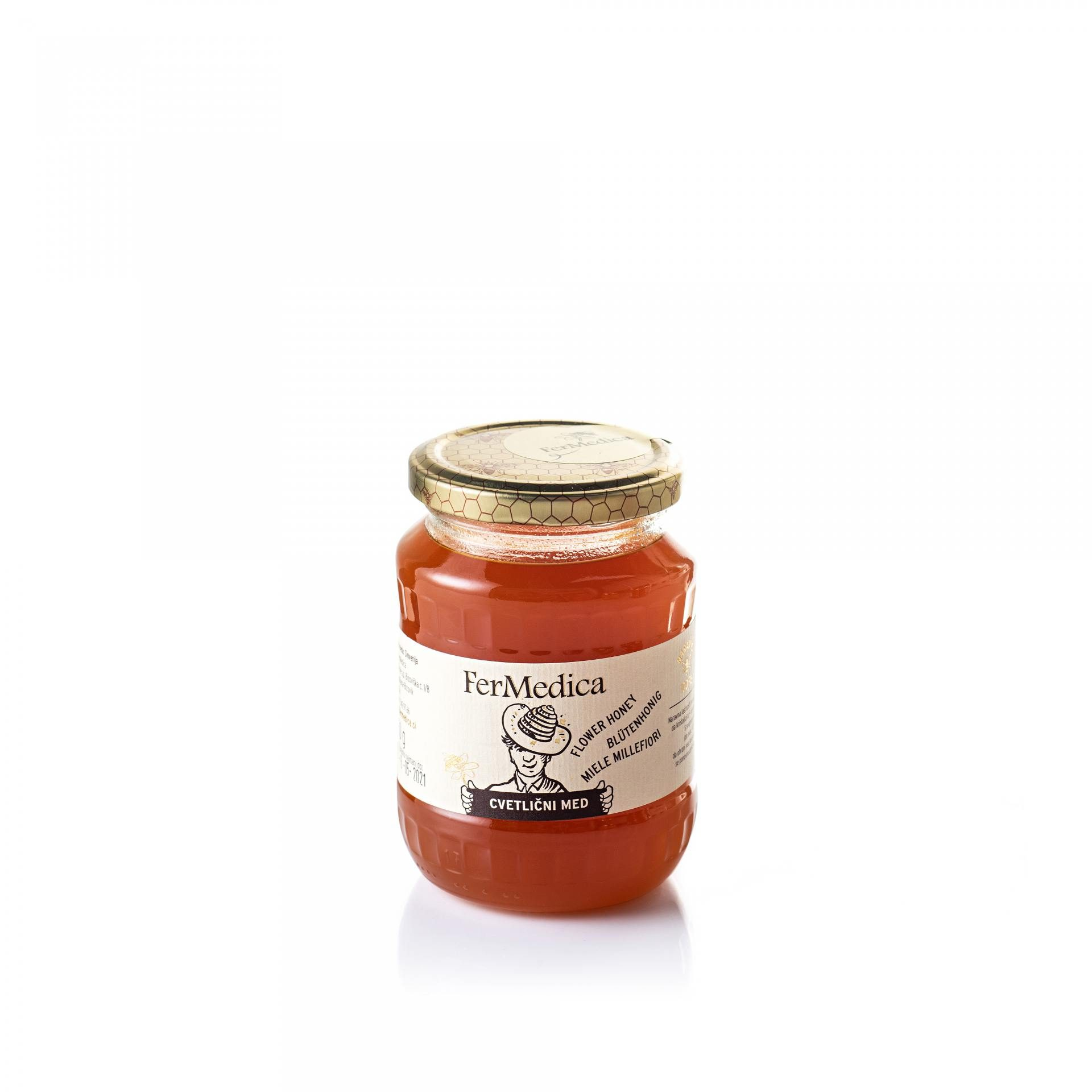 Med in žganje, med z dodatki, darilni seti v lični embalaži fermedica 60