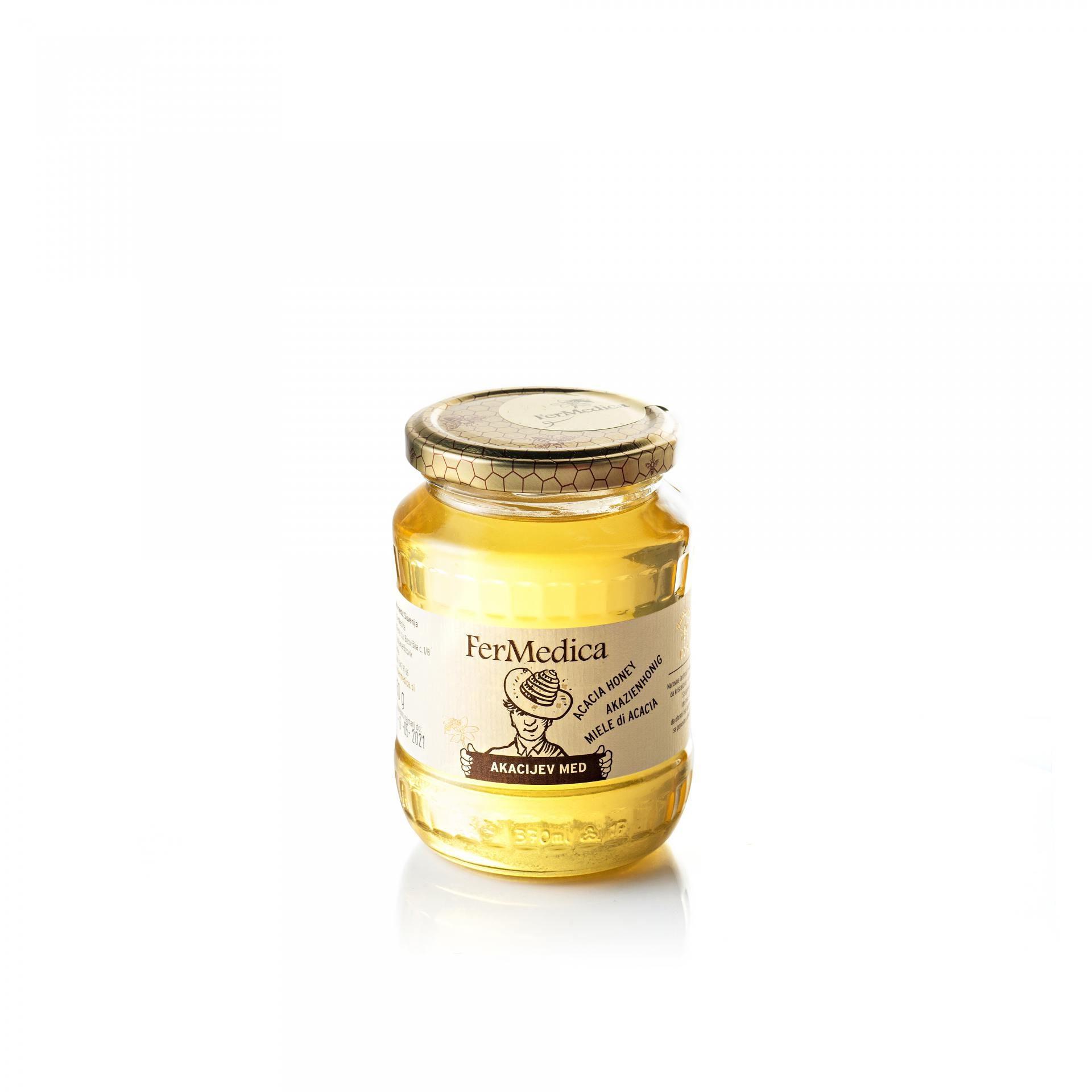Med in žganje, med z dodatki, darilni seti v lični embalaži fermedica 61