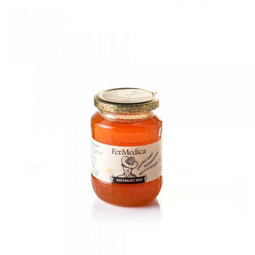 Med in žganje, med z dodatki, darilni seti v lični embalaži fermedica 62