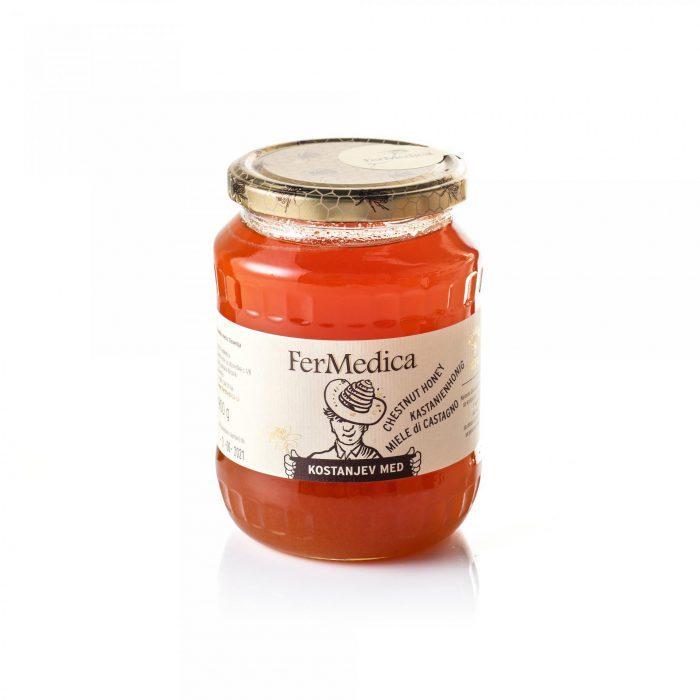 Med in žganje, med z dodatki, darilni seti v lični embalaži fermedica 64