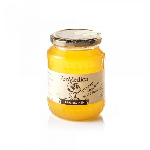 Med in žganje, med z dodatki, darilni seti v lični embalaži fermedica 65