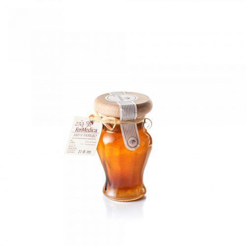 Med in žganje, med z dodatki, darilni seti v lični embalaži fermedica 66