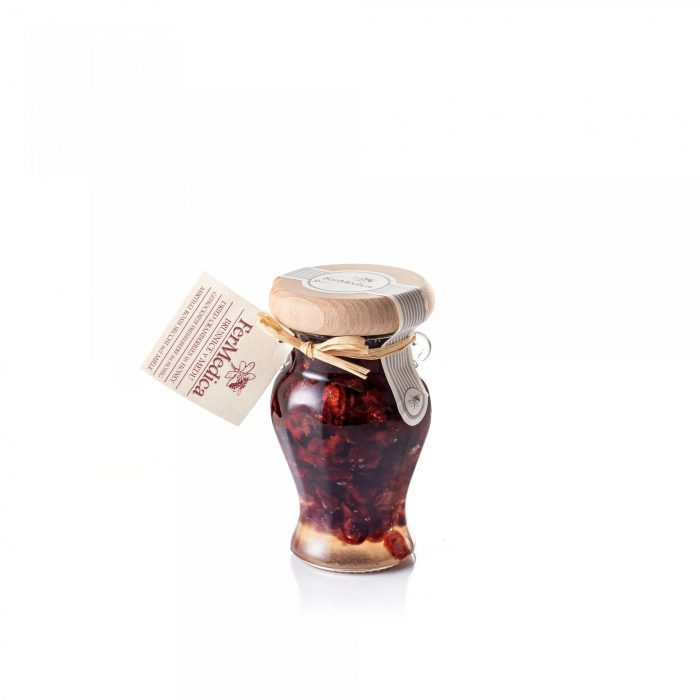 Med in žganje, med z dodatki, darilni seti v lični embalaži fermedica 67