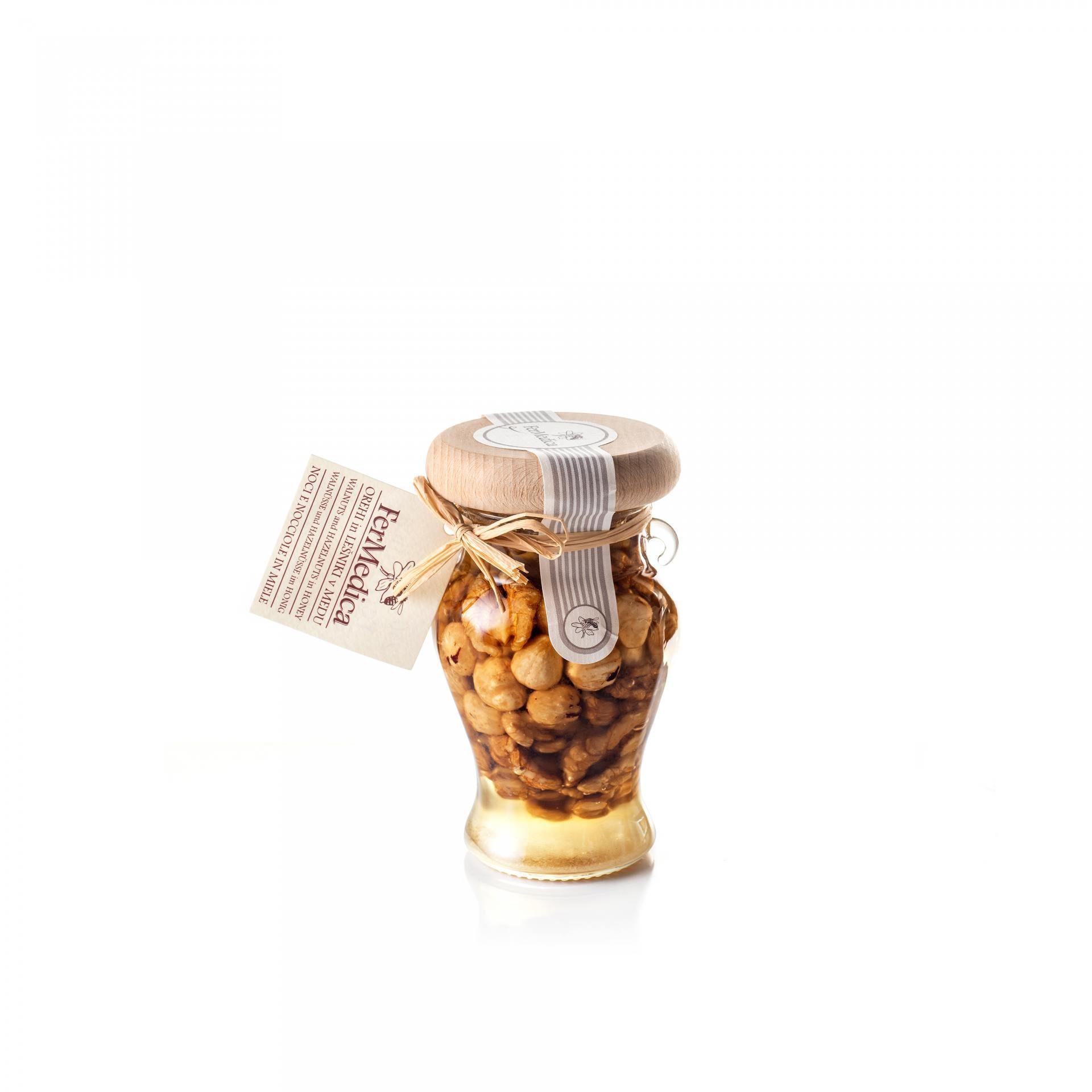 Med in žganje, med z dodatki, darilni seti v lični embalaži fermedica 69