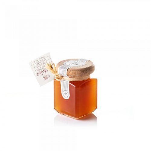 Med in žganje, med z dodatki, darilni seti v lični embalaži fermedica 71