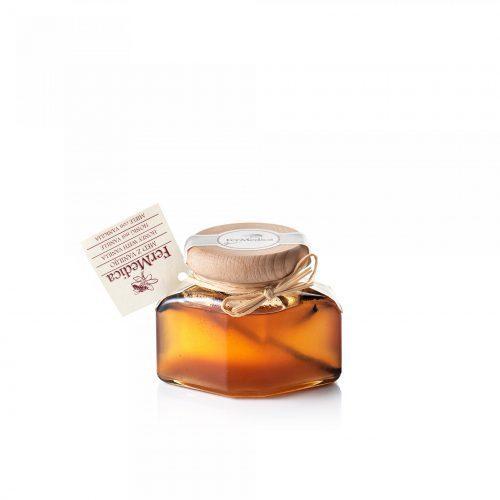 Med in žganje, med z dodatki, darilni seti v lični embalaži fermedica 78
