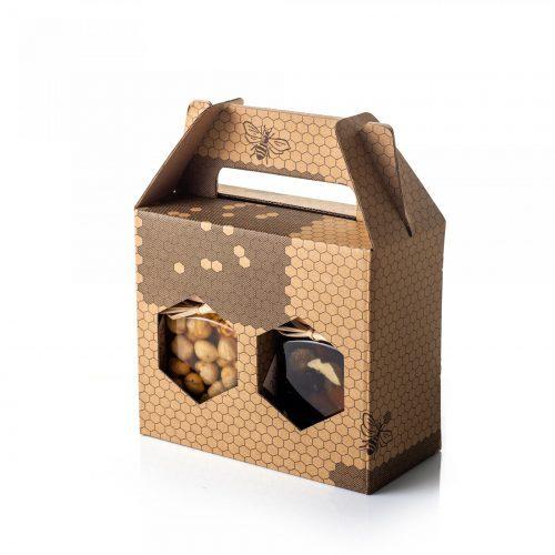 Med in žganje, med z dodatki, darilni seti v lični embalaži fermedica 86