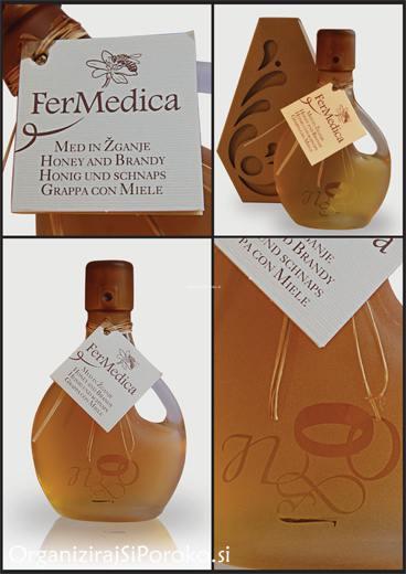 Med in žganje, med z dodatki, darilni seti v lični embalaži fermedica Fermedica_5