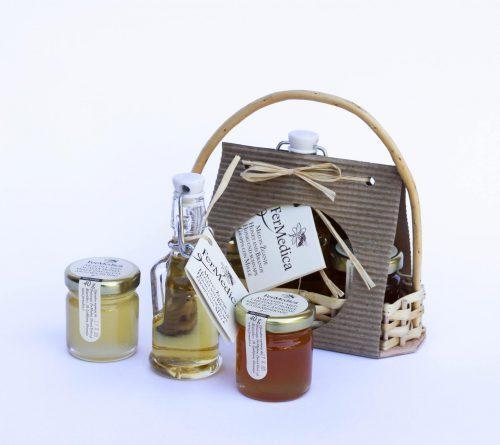 Med in žganje, med z dodatki, darilni seti v lični embalaži fermedica IMG_2116