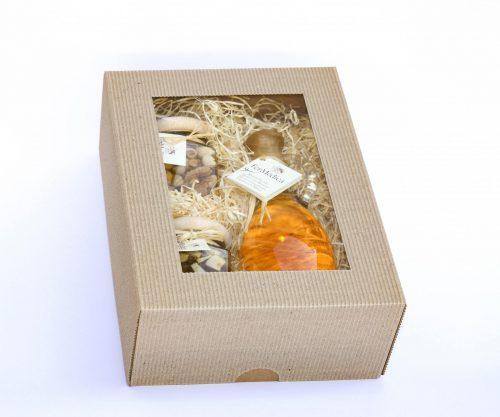 Med in žganje, med z dodatki, darilni seti v lični embalaži fermedica IMG_2241