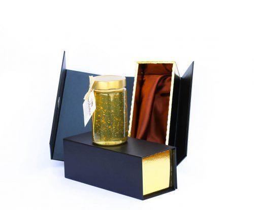 zlato-Med in žganje, med z dodatki, darilni seti v lični embalaži